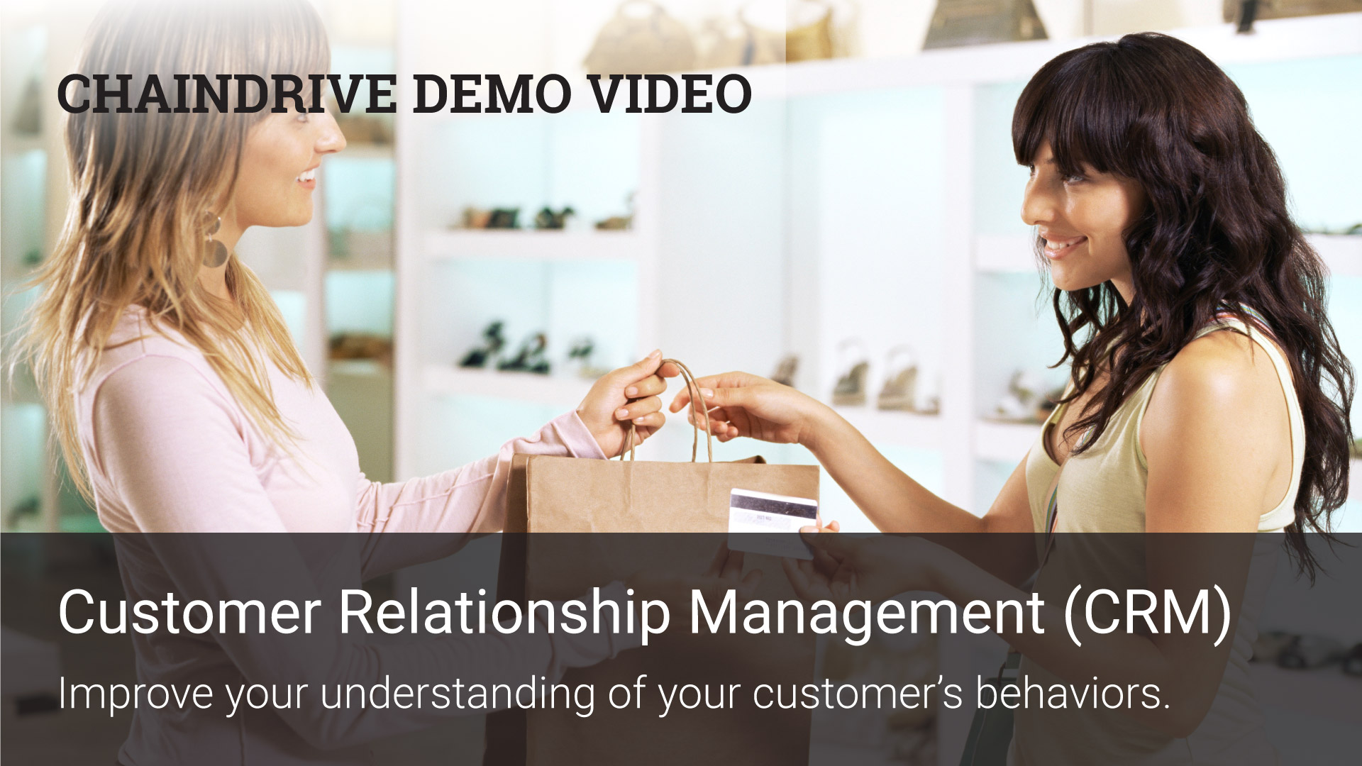 Retail Recources - ChainDrive POS CRM Demo Video