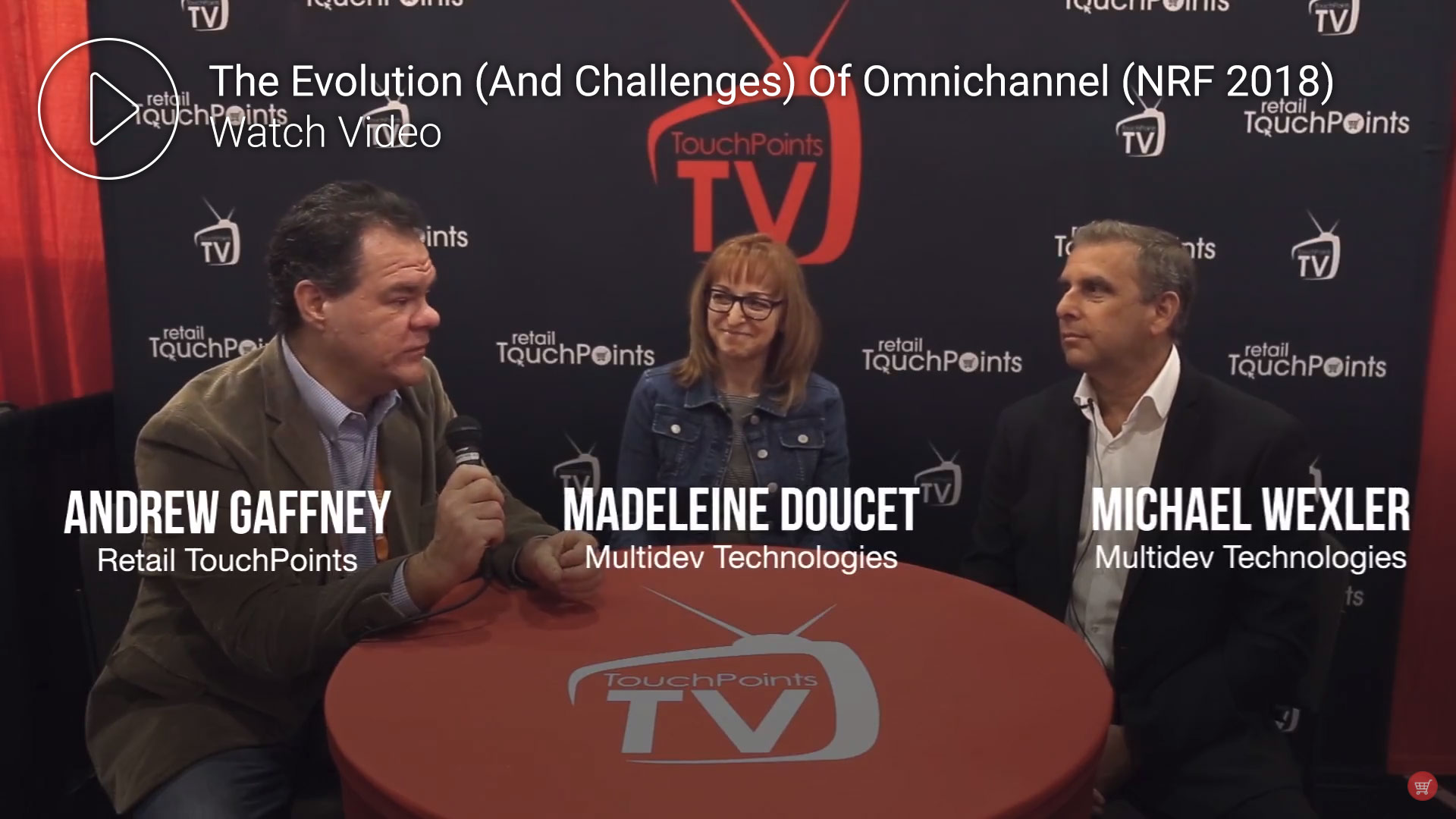 Retail Recources - NRF Interview - Omnichannel Software Solution Video